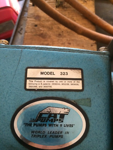 commercial pressure washer pump