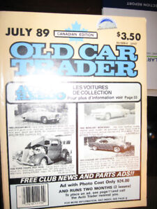 FREE - 17 Canadian Old Car Trader and Auto Trader Old Car Books