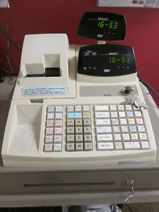 Cash Register with Receipt Rolls & Ink Ribbons for sale!