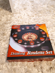 Never opened drinking roulette game
