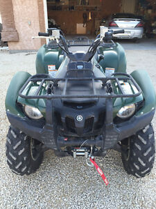 2014 Yamaha Grizzly 700 FI EPS for sale. Low Kms, low hours.
