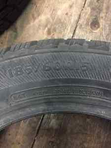 185/60/15 avalanche xtreme winter tires Kitchener / Waterloo Kitchener Area image 4