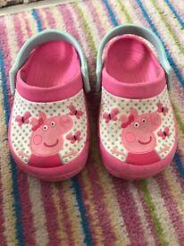 Peppa pig crocs