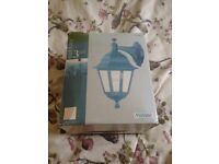 Outdoor Wall Light with bulb (Never Used)