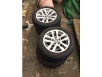 Bmw wheels . Will fit a vivaro . Trafic . Primaster