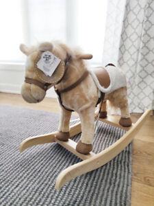 Rocking Horse brand new animated