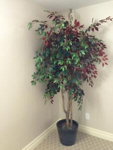 Faux Tree/Pot