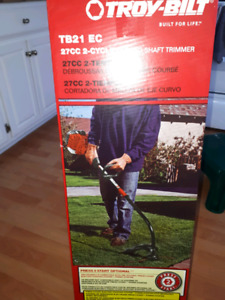 Brand new in box Troy Built grass trimmer
