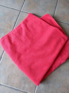 Two full size unused yoga towels