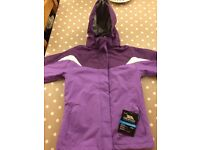 Brand New Girls Trespass 3 in 1 Jacket age 9-10