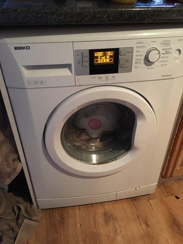 beko washing machine wmb 71642 w 7kg 1600rpm a quick. Black Bedroom Furniture Sets. Home Design Ideas