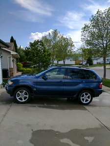 2001 BMW X5 Sport, Manual Transmission