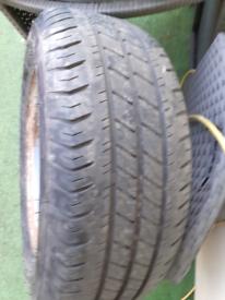 Trailer wheel tyre