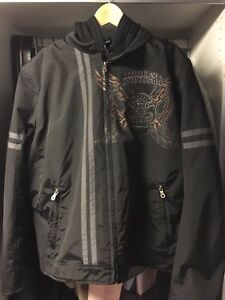 Rare and unique rat style HD jacket - size XL
