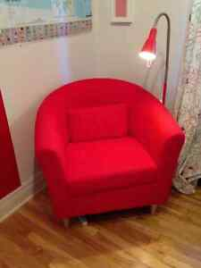 FAUTEUIL SIMPLE ROUGE