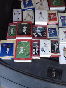 18 Baseball Xmas Ornaments, Hallmark Keepsake - buy one or all!