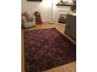 Wool rug, excellent clean condition