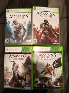 Selling assassin creed games for 360