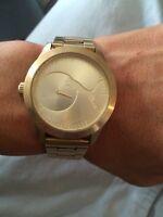 Gold puma watch