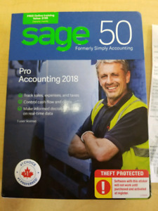 Sage 50 accounting software 2018