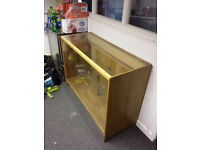Glass Retail Display Counter Cabinet