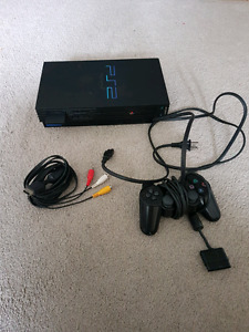 "Sony PlayStation 2 ""Fat"" model w/ 1 controller and memory card"