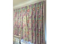 Curtains for girl's bedroom