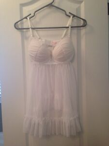 Bridal lingerie size small brand new never worn