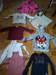 Lot habits d'hiver Zara t:5ans