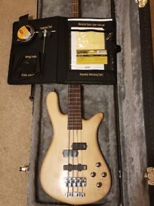 Warwick Streamer lx4 bass guitar. Made in Germany 2007.