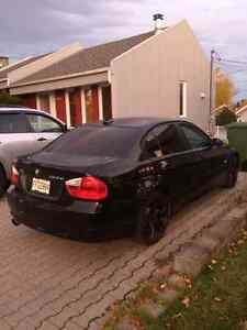 2007 BMW 3-Series Noir Berline