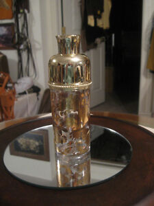 EXQUISITE FRENCH-MADE NINA RICCI GOLD PERFUME ATOMIZER
