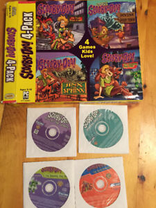 Scooby Doo 4 pack PC games