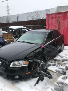 AUDI A4 2008 S-Line for parts engine available