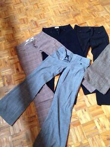 Plusieurs pantalons