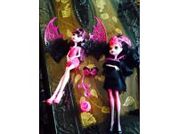 Monster high dolls cont.