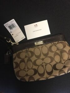 Authentic Coach Wristlet -Never used