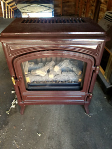 Antique Gas Fireplace