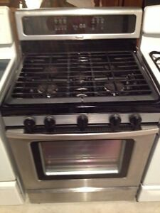 2 gas stoves GE and whirlpool  Stratford Kitchener Area image 2