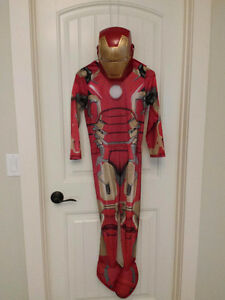 Iron Man Halloween Costume (Boys Medium 6 - 8 years old)