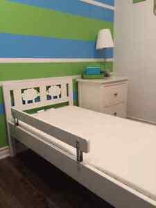 Lit d'appoint pour enfants Ikea blanc West Island Greater Montréal image 1