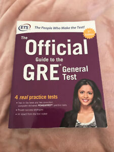 The Official Guide to GRE (ETS)