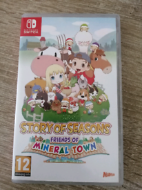 Story of seasons: Friends of mineral Town SWITCH game