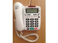 Telephone Binatone Big Button phone ideal for the elderly