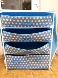 Canvas drawers