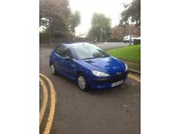 2001 PEUGEOT 206 1.4L PETROL FOR SALE