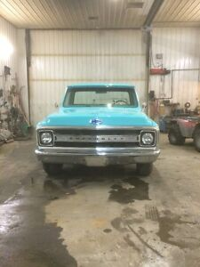 1969 chev shortbox!