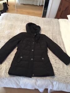 Manteau d'hiver noir Novelti
