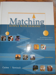 Matching supplay with demand. (Operation Management)