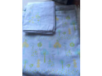 Toddler/cot bed duvet set